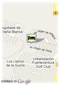 map-Hotel Apartamentos Castillo Beach
