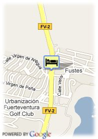map-Hotel Elba Castillo Antigua & Suites
