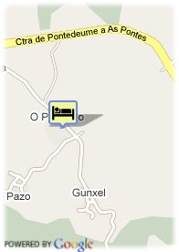 map-Hotel Fraga do Eume