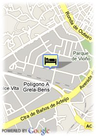 map-Hotel Husa Center