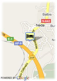 map-Hotel Husa Odeon