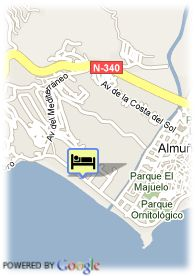 map-Almuñecar Playa Spa Hotel
