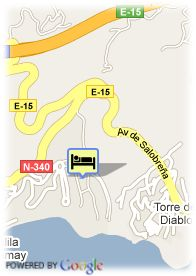 map-Hotel Playacalida Spa Hotel