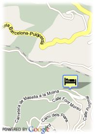 map-Hotel HG Maribel