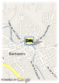 map-Hotel Rey Sancho Ramirez