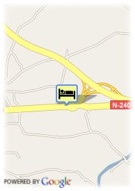 map-Hotel Montearagon