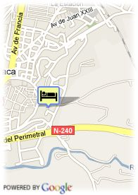 map-Hotel Real