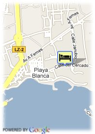 map-Hotel Princesa Yaiza