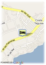 map-Hotel Las Marinas Club Resort