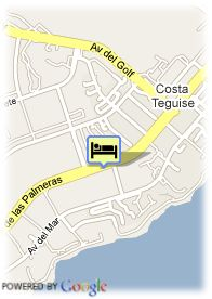 map-Hotel Playaverde