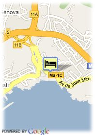 map-Hotel Nixe Palace