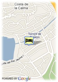map-Hotel Playa Santa Ponsa