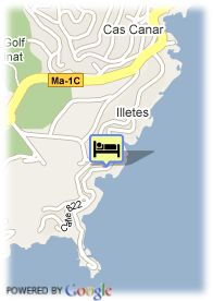 map-Hotel Roc Illetas Playa