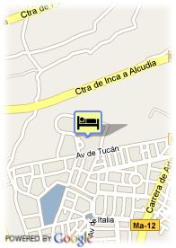 map-Hotel Club Mac Alcudia