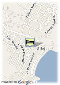 map-Hotel Hipotels Marfil Playa