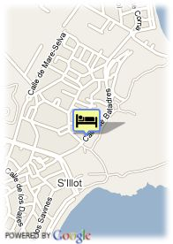 map-Hotel Protur Biomar Gran Hotel Spa