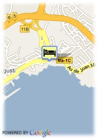 map-Hotel Cala De Playa Mayor