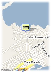 map-THB Guya Playa Aparthotel