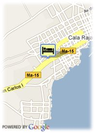 map-Hotel Dos Playas