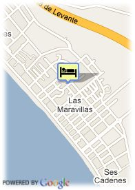map-Hotel Maria Isabel