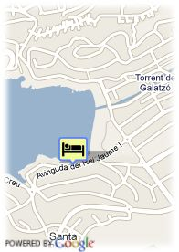 map-Hotel Playas del Rey