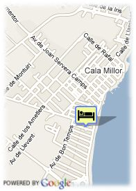 map-Hotel Hipotels don Juan