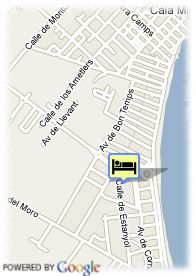 map-Hotel Hipotels Cala Millor Park Aparthotel