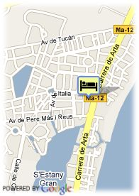 map-Aparthotel Playa Garden