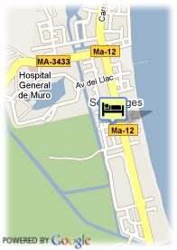 map-Hotel Grupotel Alcudia Suite