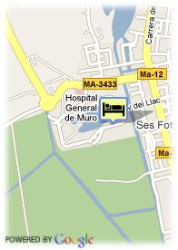 map-Hotel Grupotel Amapola