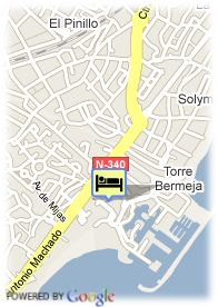 map-Hotel Alay