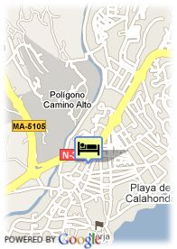map-Hotel Playamaro
