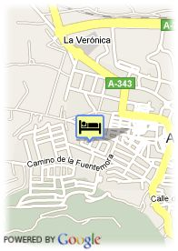 map-Hotel Antequera Golf