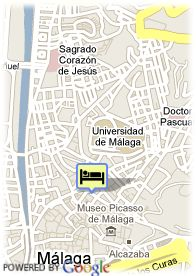 map-Hotel Del Pintor