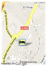 map-Hotel Adriano