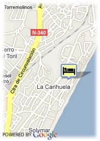 map-Hotel Roc Lago Rojo