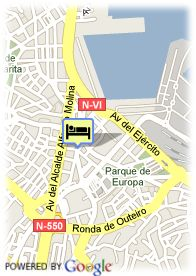 map-Hotel Room Mate Larios