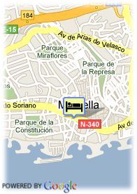 map-Hotel El Rodeo
