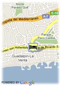 map-Hotel Apartamentos Sultan Club