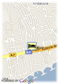 map-Hotel Pinomar Playa