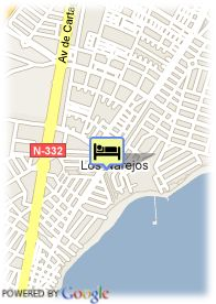 map-Hotel Costa Narejos