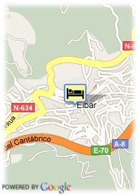 map-Hotel Arrate