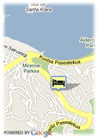 map-Hotel Barcelo Costa Vasca