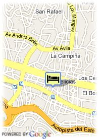 map-Apartamentos Executive Flats