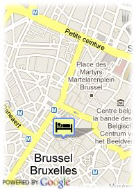 map-Floris Arlequin Hotel