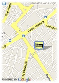 map-Floris Hotel Louise