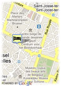 map-Hotel Scandic Grand Place