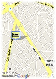 map-Louise Hotel