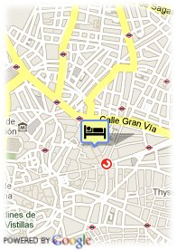 map-Petit Palace Londres