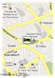 map-Riad Nerja